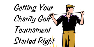 Getting Your Golf Tournament Started Right