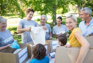 Parents for walkathon fundraising