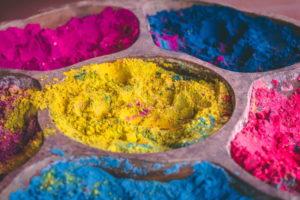 Color Run Fundraiser color powder