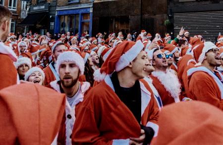 Jingle Bell Walks with a Christmas theme