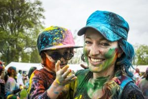 School Fundraising with color runs