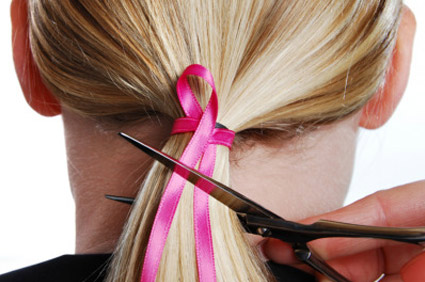 Breast Cancer Fundraising Idea: Cuts for the cure