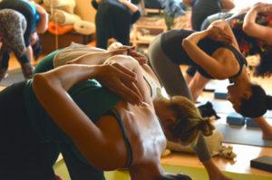 Sorority Fundraising with yoga
