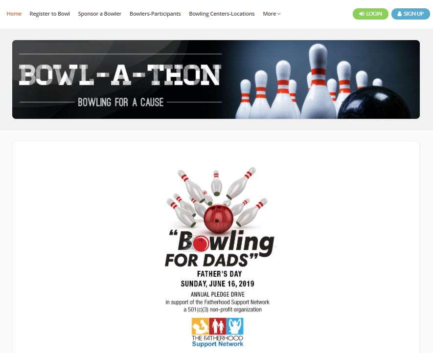 Bowling website