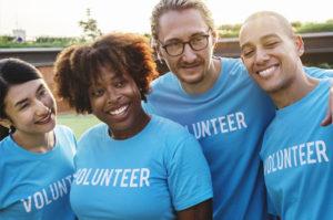 Volunteering builds community