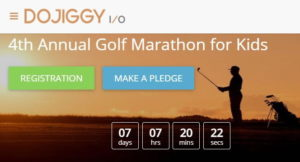 Golf Marathon Fundraising for virtual campaigns