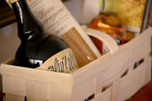 Gift baskets make great auction items