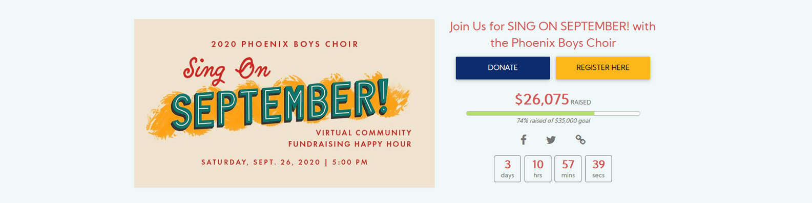 Virtual Happy Hours and Performances for  #GivingTuesday fundraising