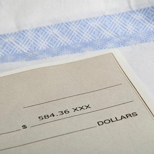 Checks by Mail