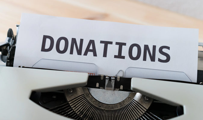 Simplified Donations