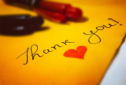 Don't Forget to Thank Your Donors for Year-End Giving
