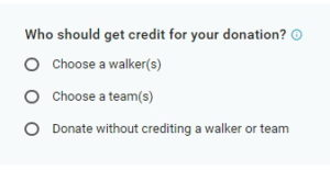 Credit Fundraising Participant