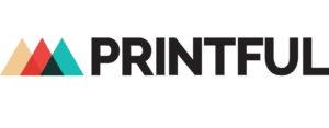 Use printful for print on demand merchandise