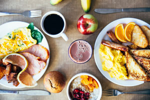 Breakfast Fundraisers are easy for  many church congregations