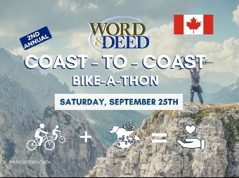 Word & Deed Coast-to-Coast Bikeathon